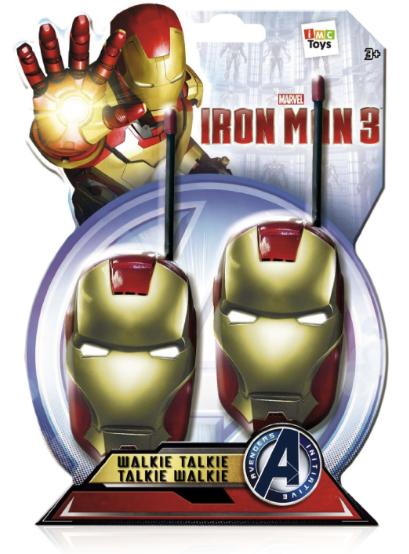 Iron Man Walkie Talkie