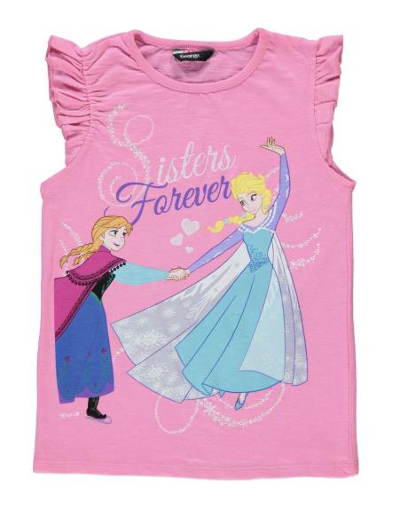 Disney Frozen Sisters Forever T Shirt