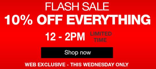 halfords flash sale