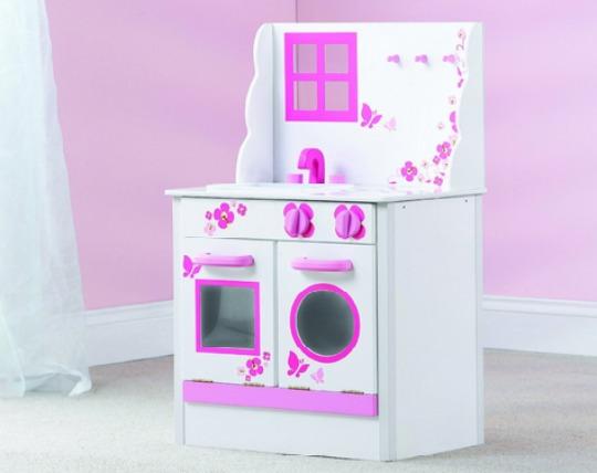 amazon pink wooden kitchen