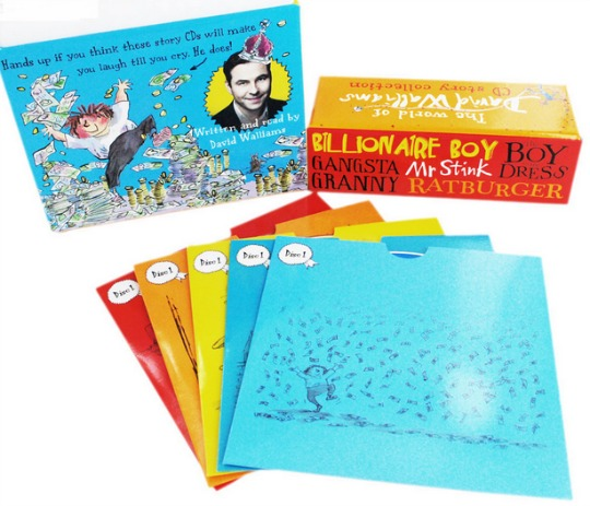 david walliams cds