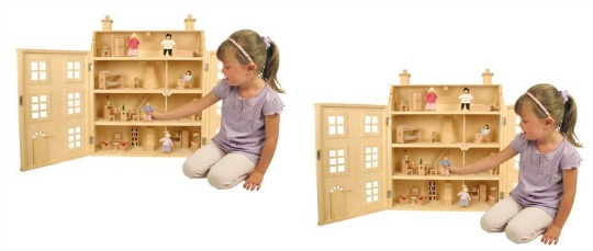 dolls house with 50