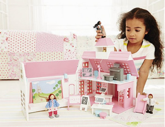 Rosebud Wooden School Playset £30 @ Early Learning Centre
