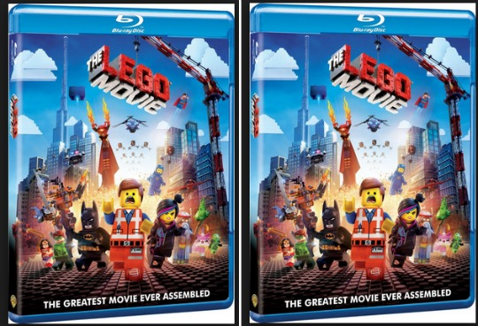 lego movie blu ray
