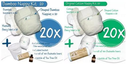 little lamb nappy kit