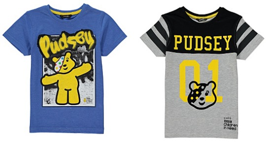 pudsey t shirts