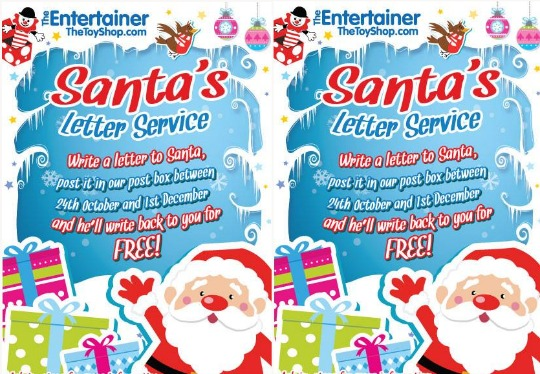 santas letter service