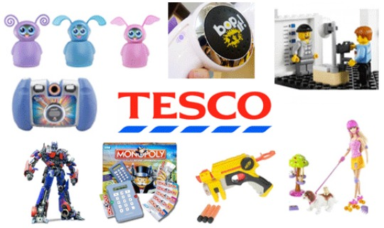 tesco up to 50 off toys