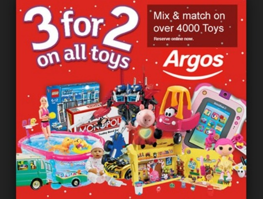 3 for 2 toys