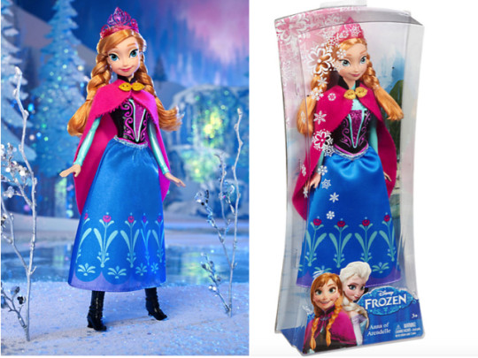 Anna of Arendelle Doll