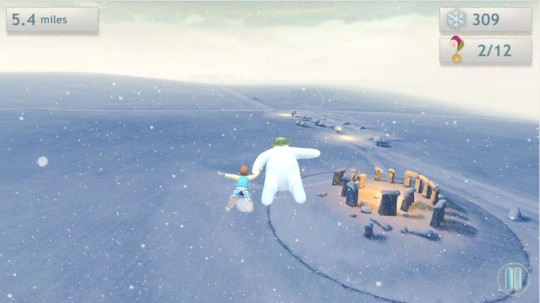 The Snowman and the Snowdog App