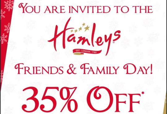 Hamleys Printable Voucher