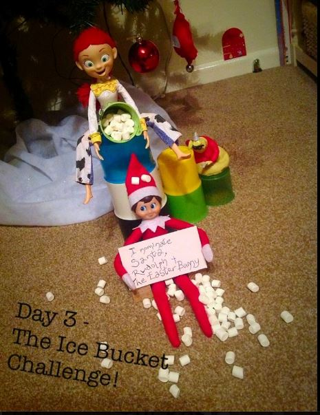 elf ice bucket
