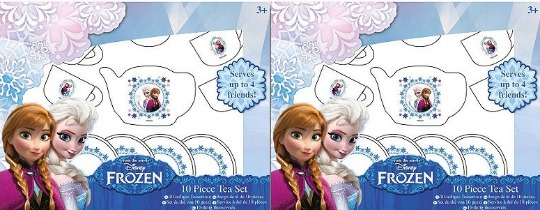 frozen tea set