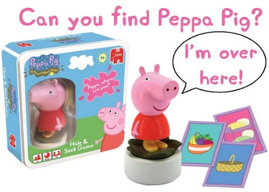 hide peppa
