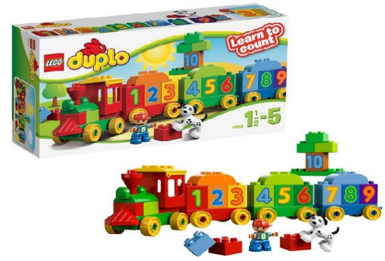 Lego Duplo Number Train £9.44 @ Amazon