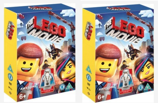 lego movie dvd