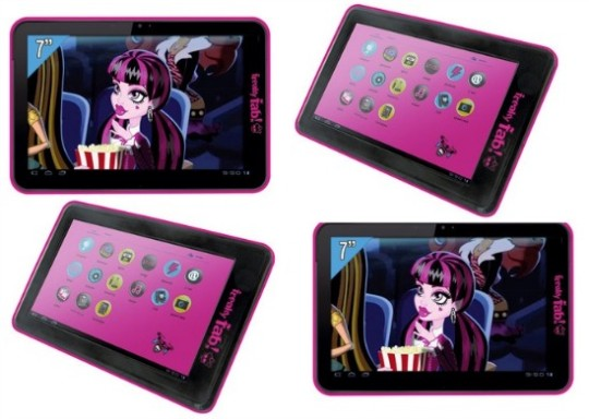 monster high tablet