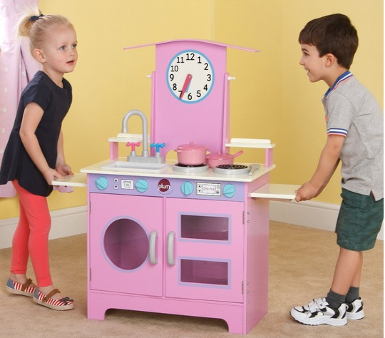 Plum Padstow Wooden Role Play Kitchen With Accessories 50
