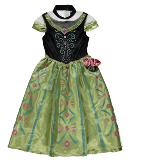 Disney Frozen Musical Anna Coronation Fancy Dress