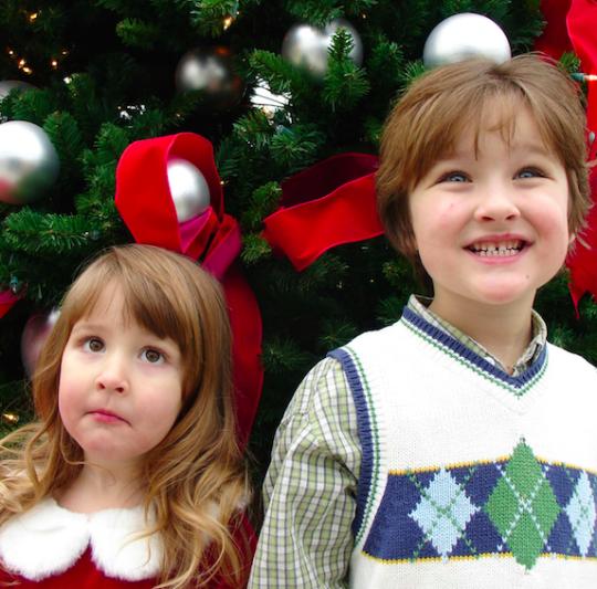 Christmas + kids