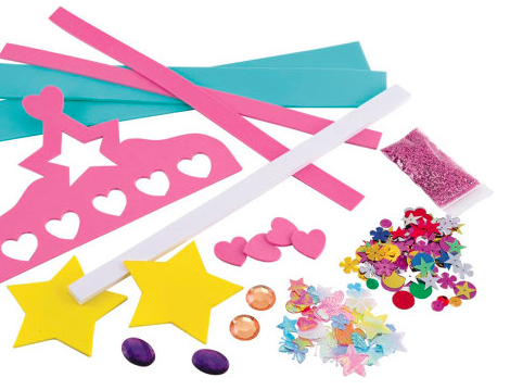 Decorate Your Own Tiara And Wand