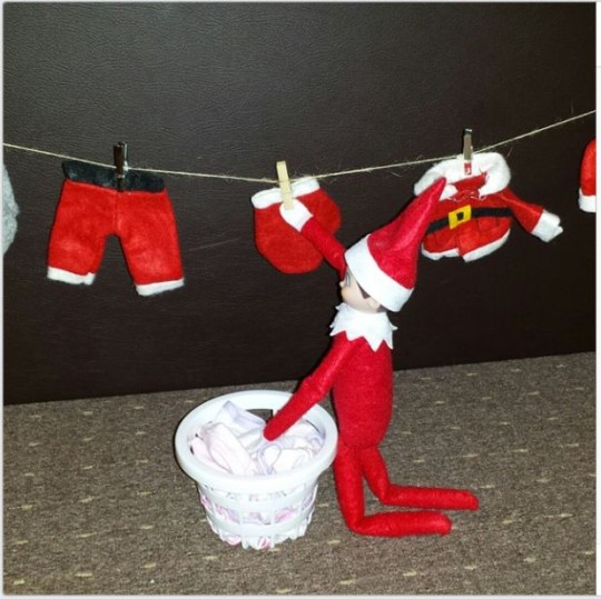 elf washing line