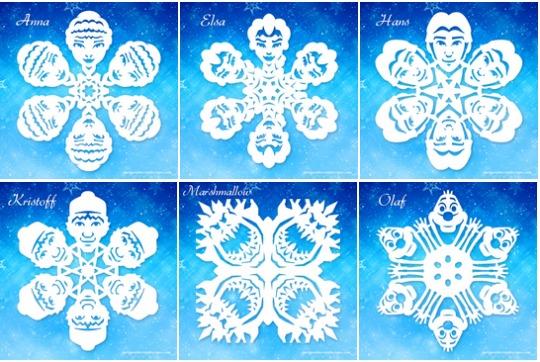 frozen snowflakes pm