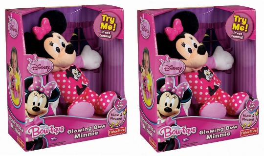 glowing bow minnie pm
