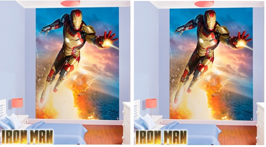 iron man mural pm