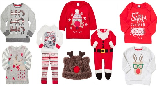 ca635d480ebe Kids Christmas Clothing now from £1   Tesco!