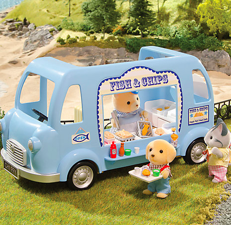 Sylvania Families Fish And Chip Van