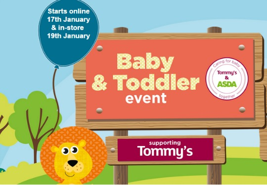 asda baby & toddler pm