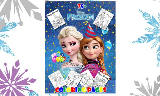 free frozen colouring pm