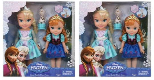 frozen toddler doll set pm