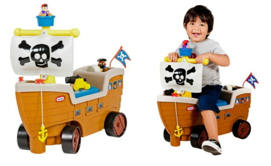 little tikes pirate ship pm