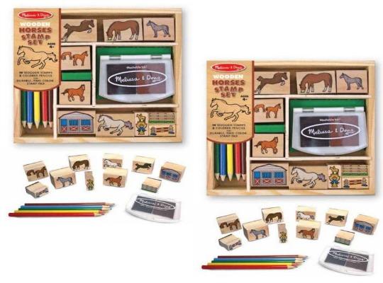 mel horse stamp