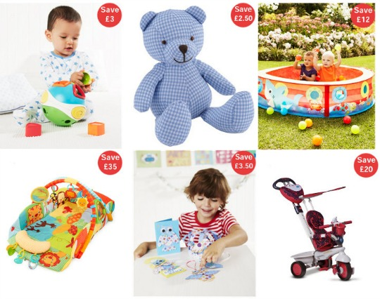 mothercare toys pm