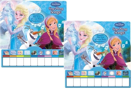 Frozen Piano Book