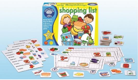shopping list pm