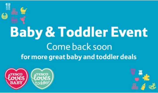 tesco baby & toddler pm