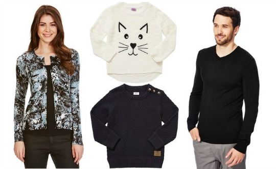 25 off knitwear tesco pm