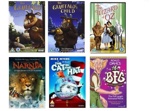 Movies from books