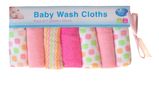 Baby Wash Cloths