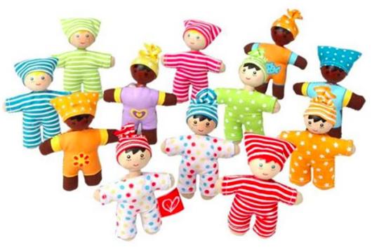 Hape Little Wooden Baby Dolls