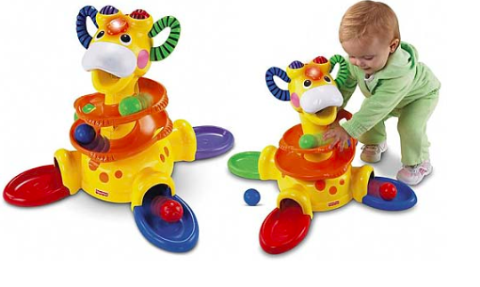 Fisher Price Sit To Stand Giraffe
