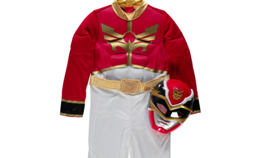 Megaforce Power Rangers Fancy Dress