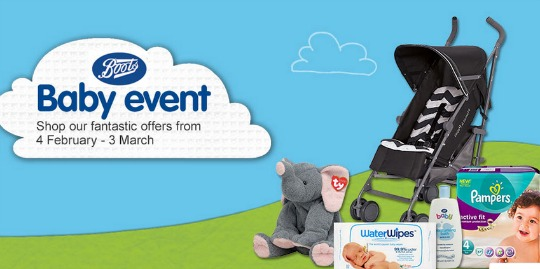 boots baby event pm