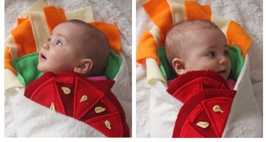 burrito baby blanket pm