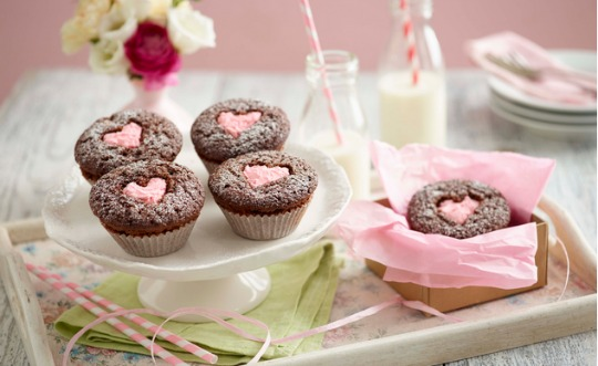 heart cupcakes pm